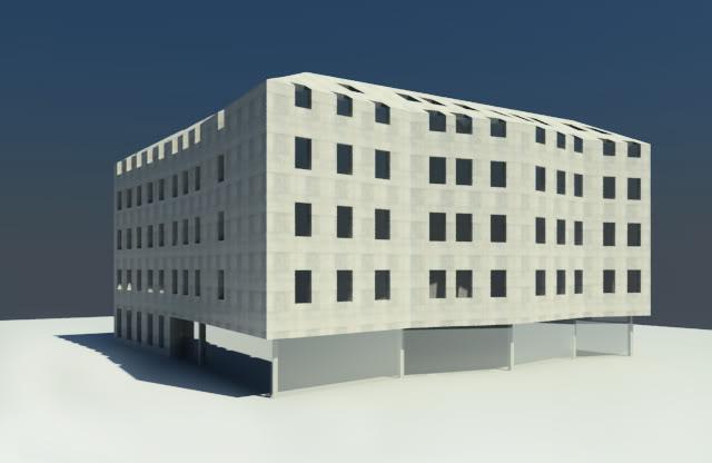Проект готелю на вул. Вірменська-Краківська