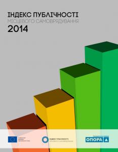 Індекс публічності місцевого самоврядування – звіт за 2014 рік